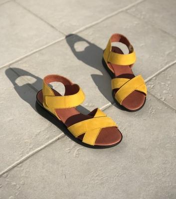 sandales honore safran