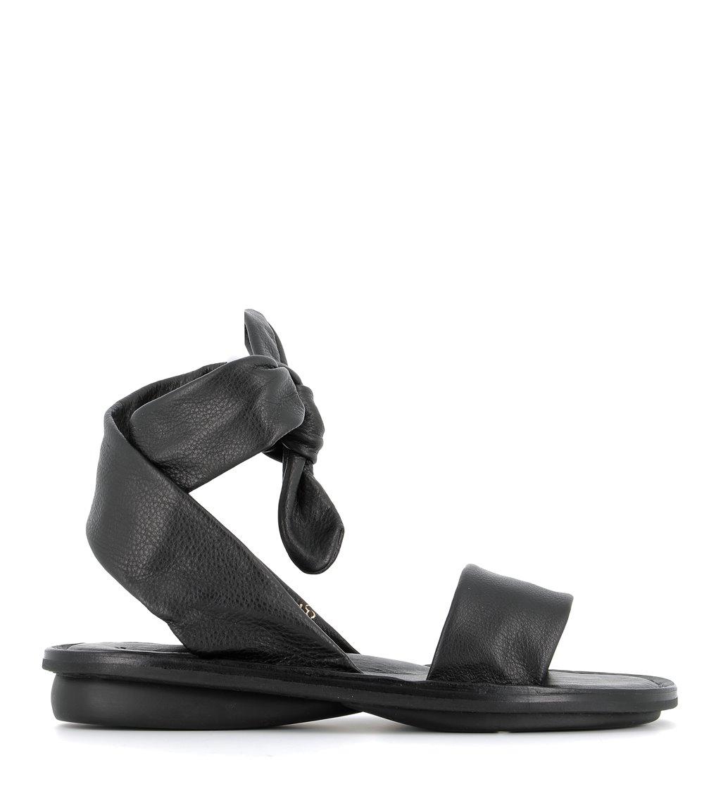 sandales chant f noir
