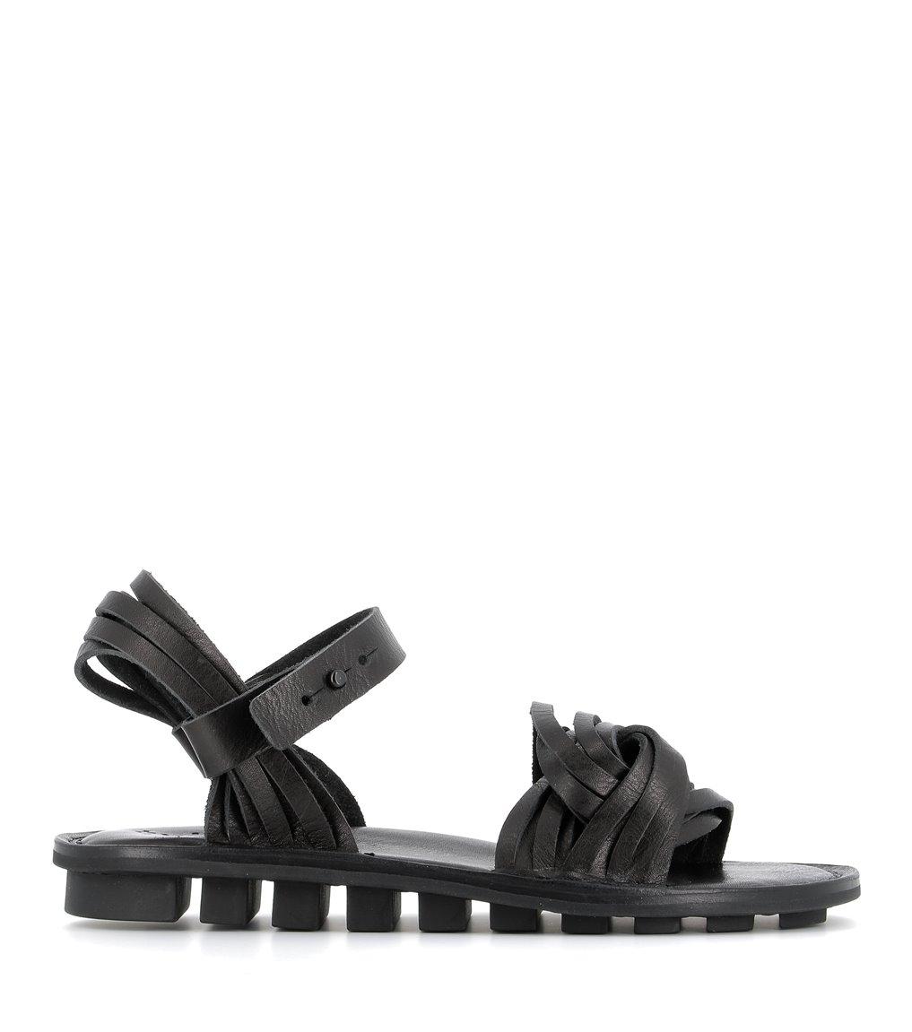 sandals cleo f black