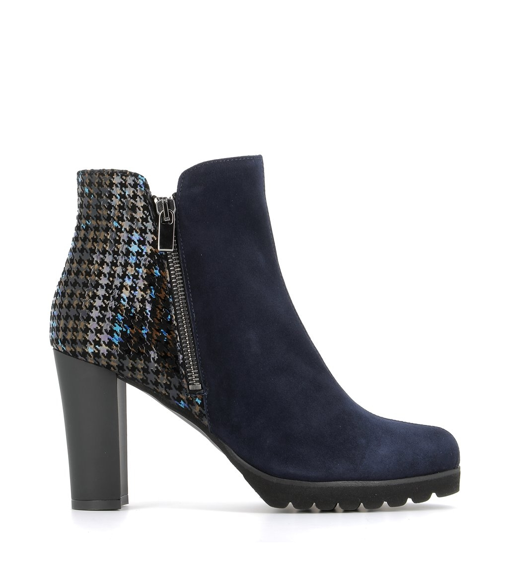low boots 98007 british blu