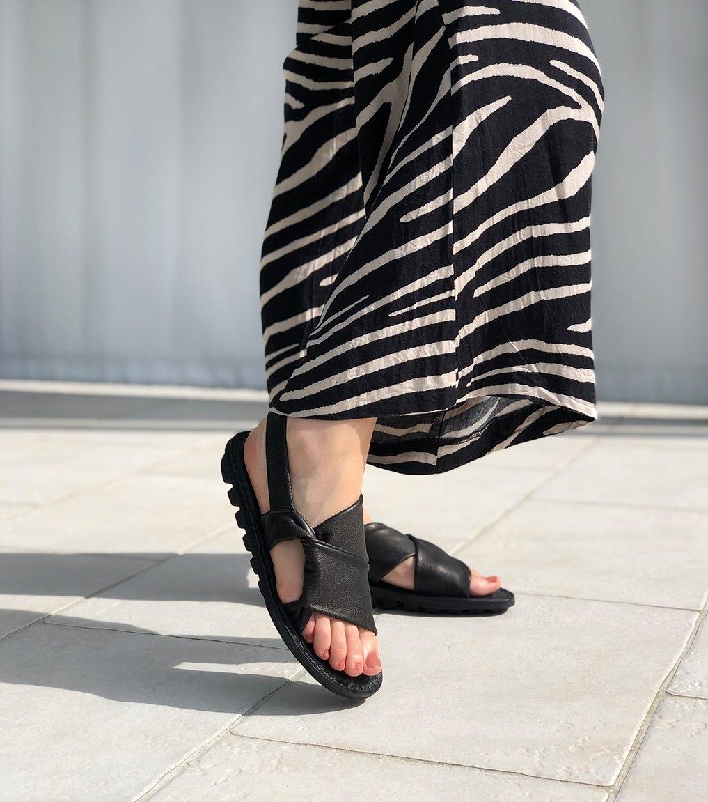 sandales embrace f noir