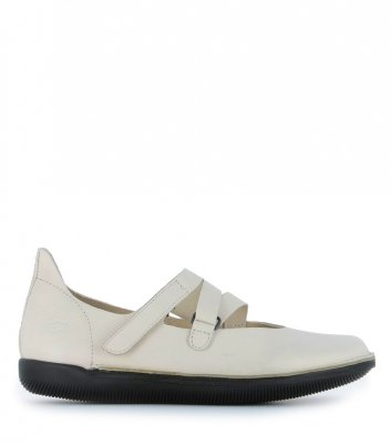 ballerinas natural 68310 white