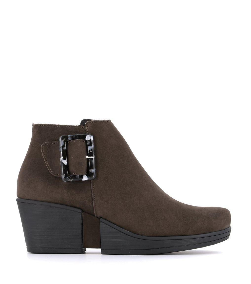 low boots camelia ebene
