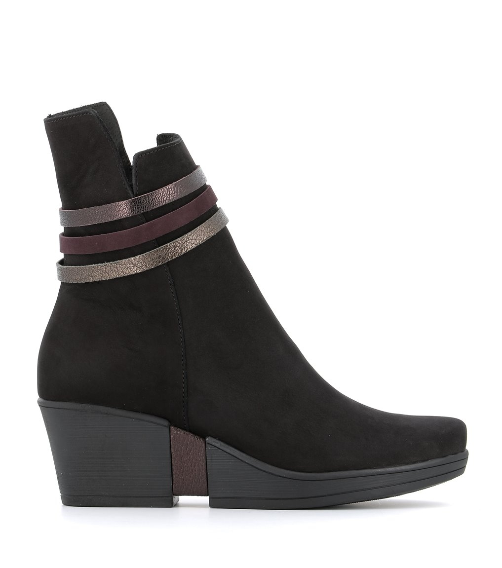 low boots candice black
