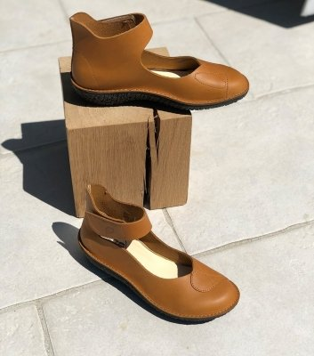 ballerines fusion 37935 cognac