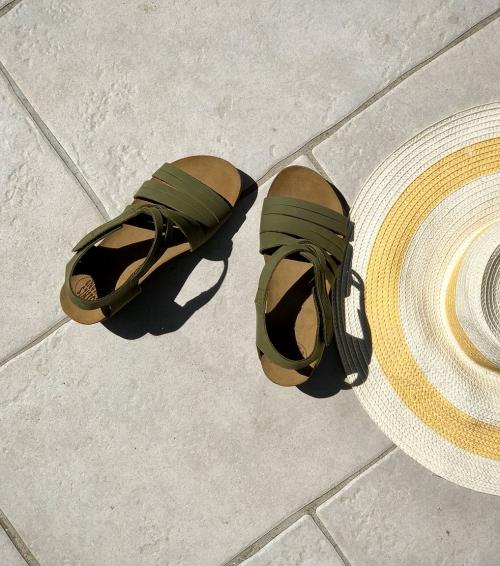 sandals next 52865 green