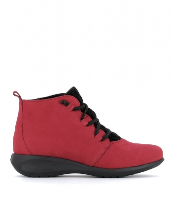 boots sidonie rouge