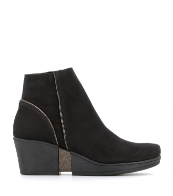boots carlie noir