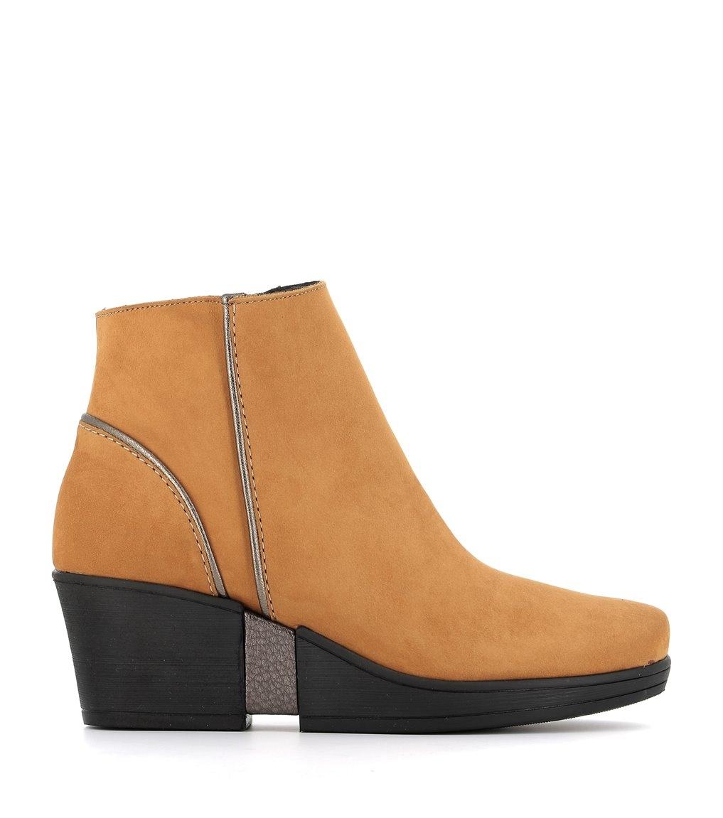 low boots carlie ocre
