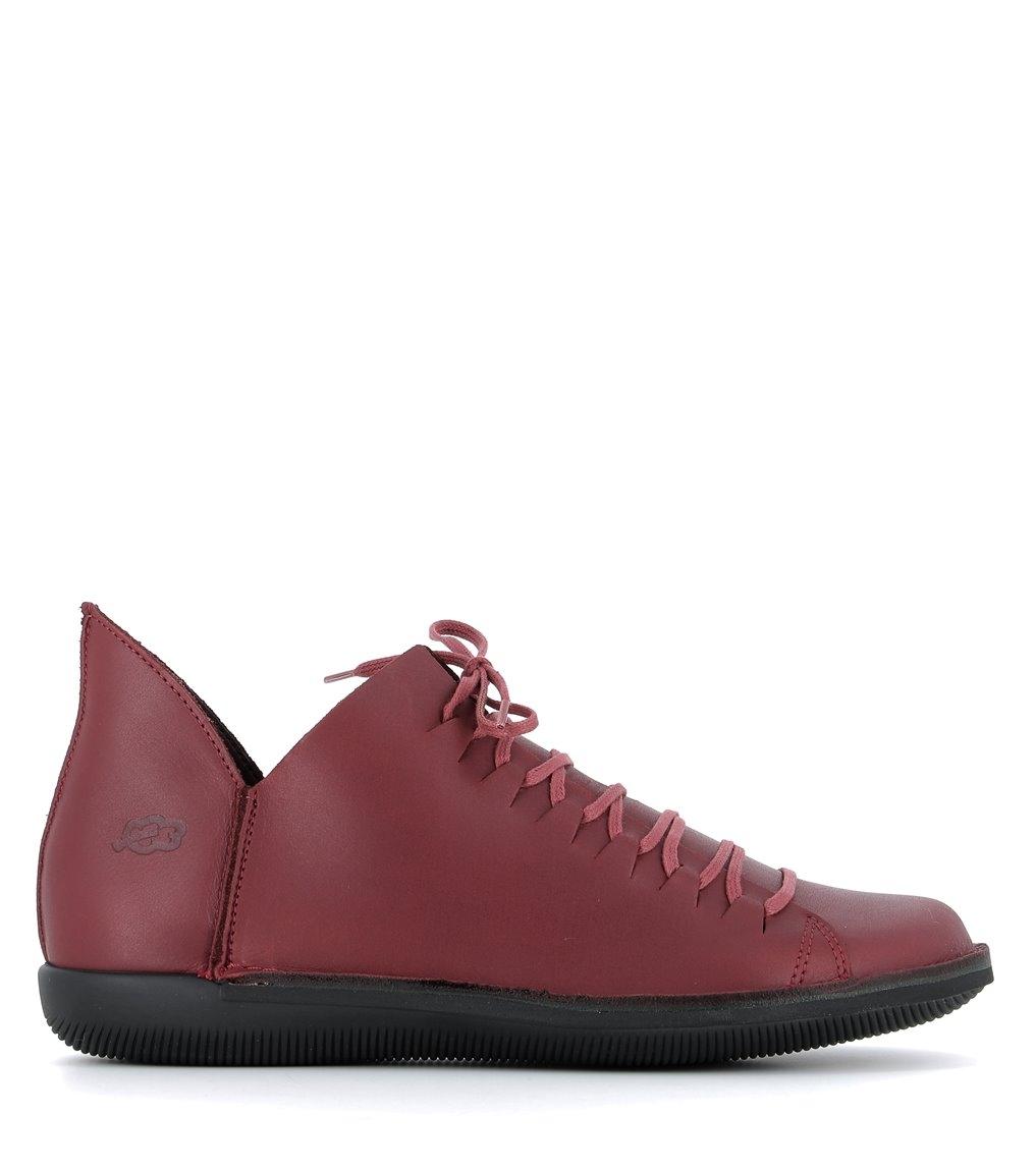 zapatos natural 68066 rojo