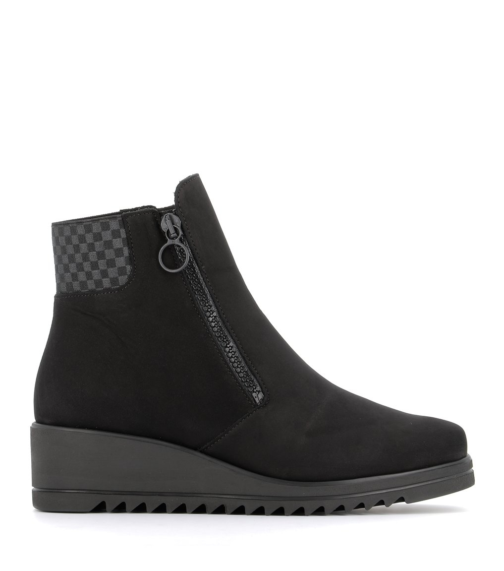 low boots nelly black