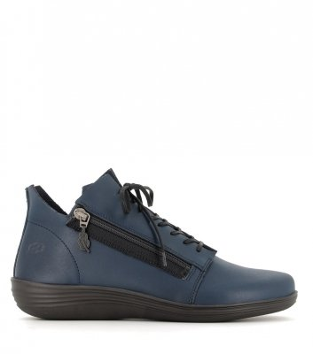 casual shoes circle 79009 blue