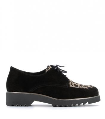 chaussures oceane noir leo