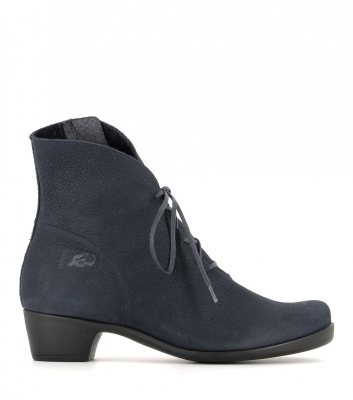low boots opera 33080 blue