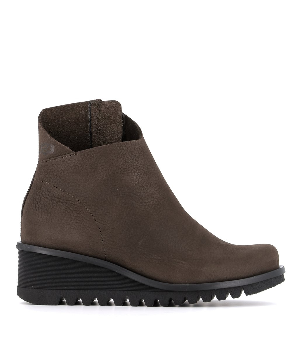 low boots lightning 33992 brown