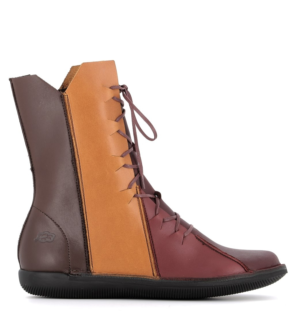 bottines natural 68955 chesnut