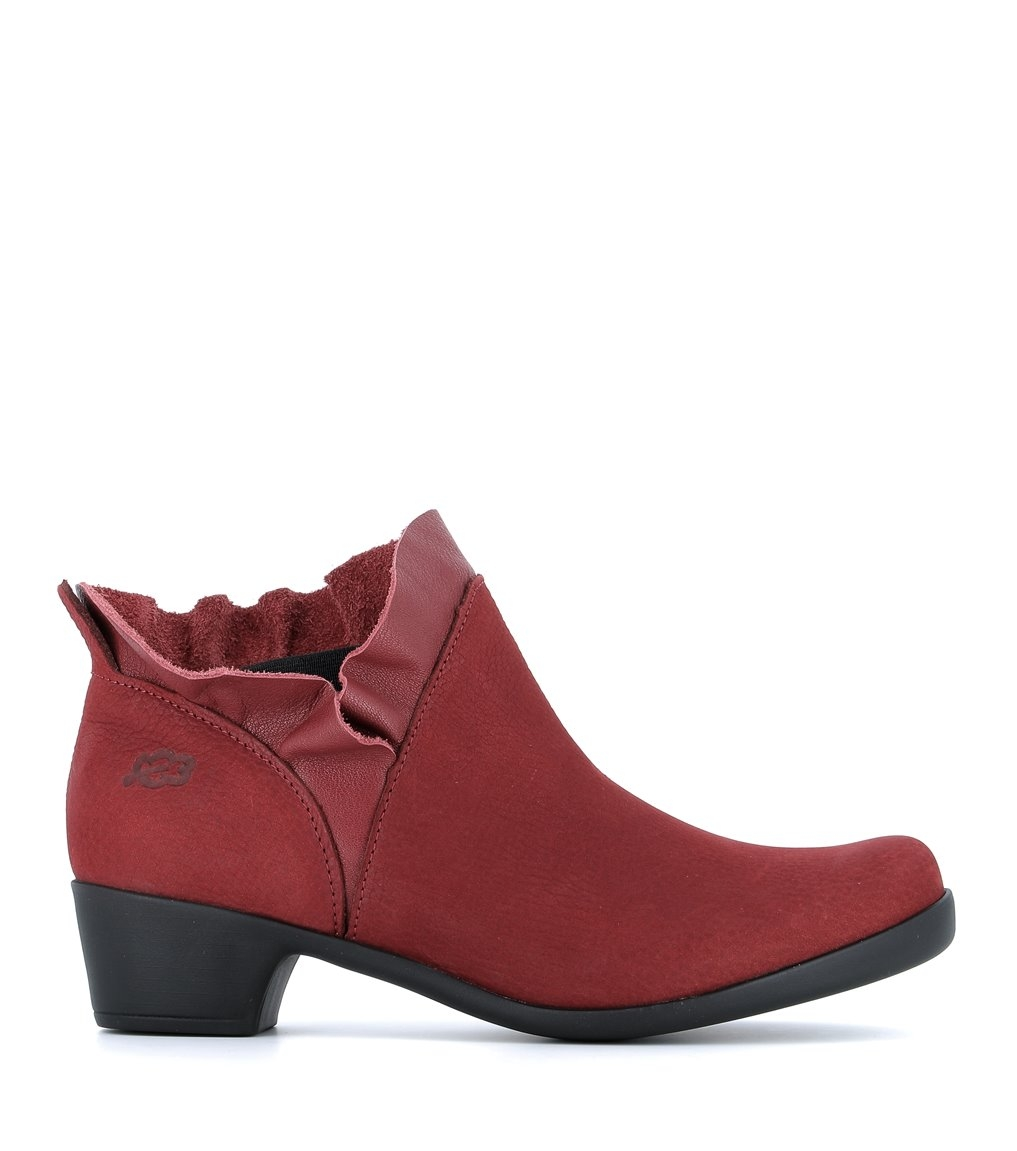 ankle boots opera 33461 rubywine
