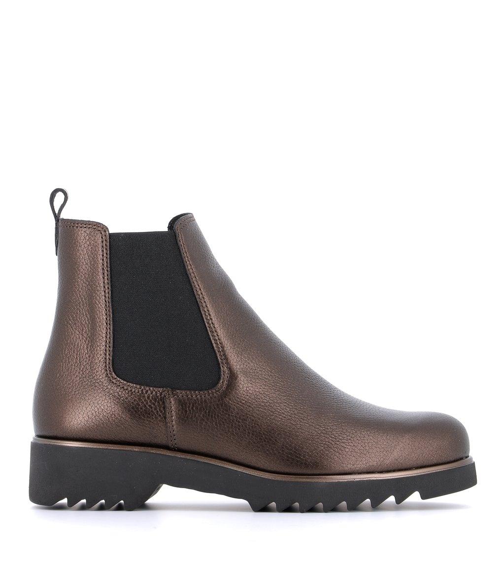 low boots oriane bronze