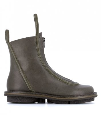 ankle boots micro f khaki grey
