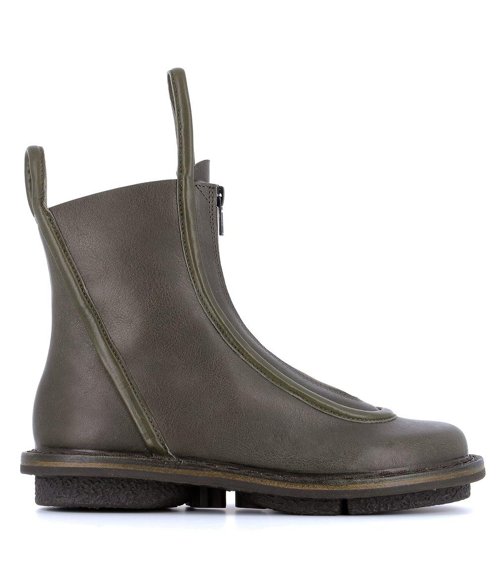 ankle boots micro f khaki grey