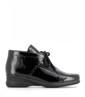 chaussures genna verni noir