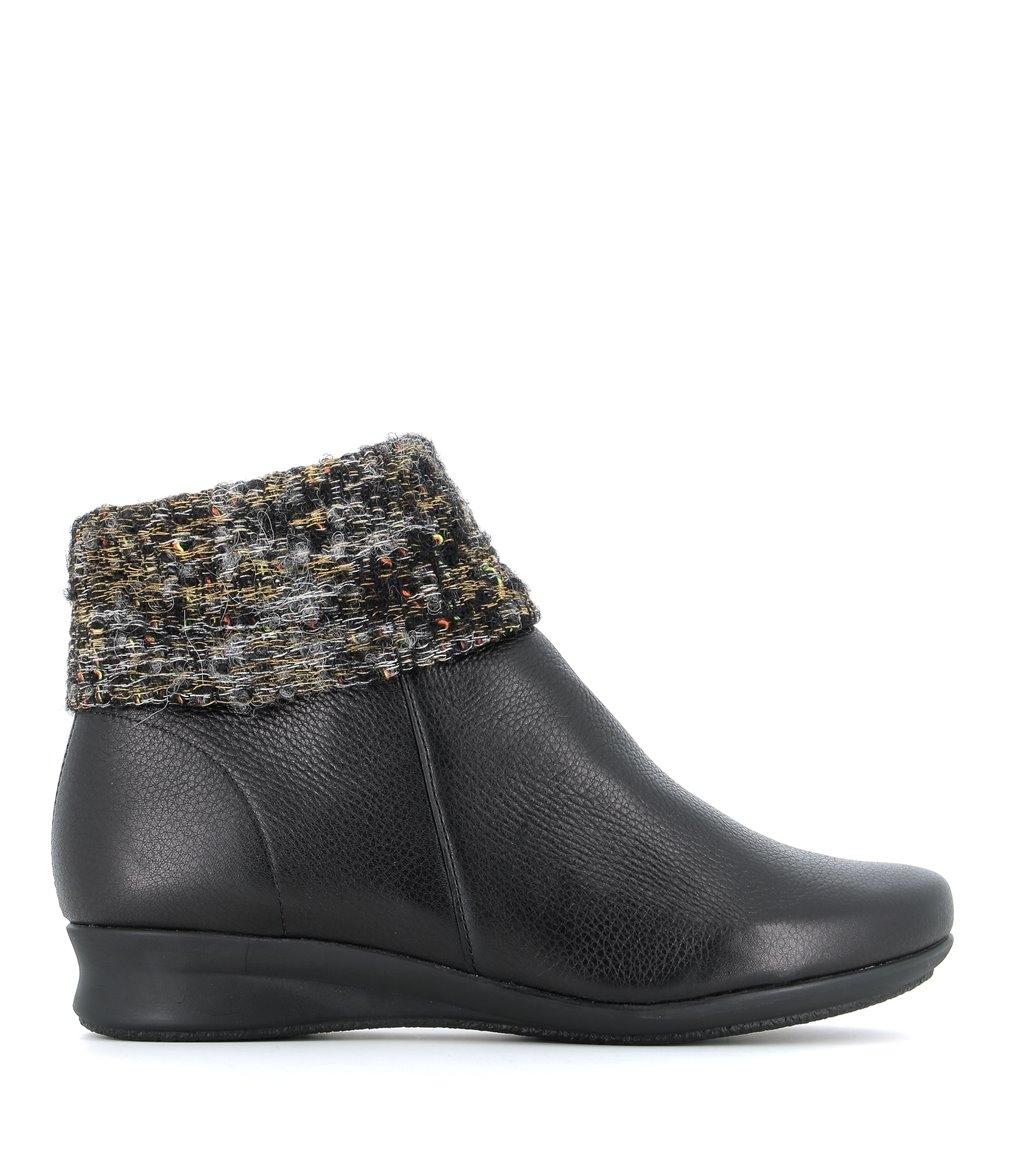 ankle boots ronaldo black