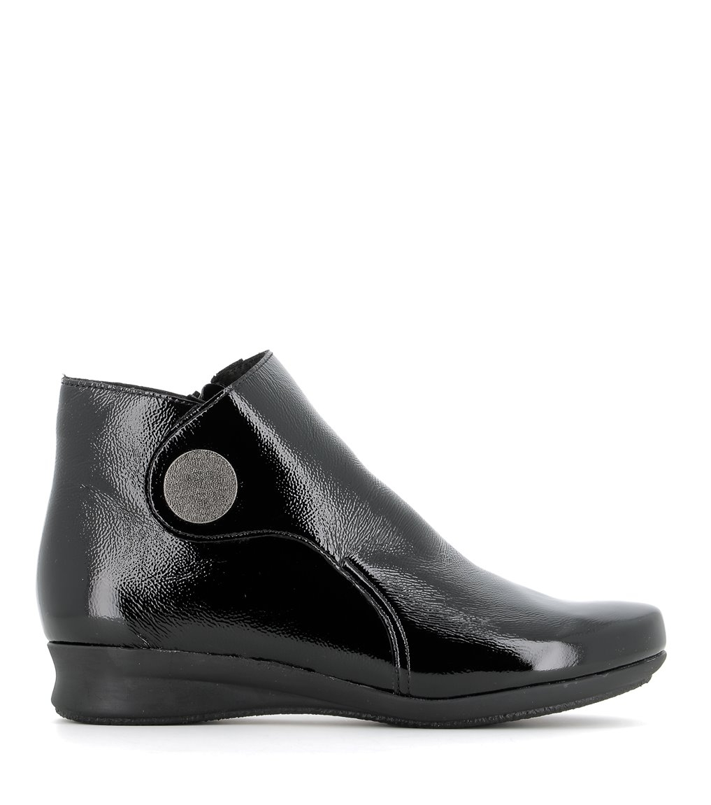 ankle boots romarin black patent