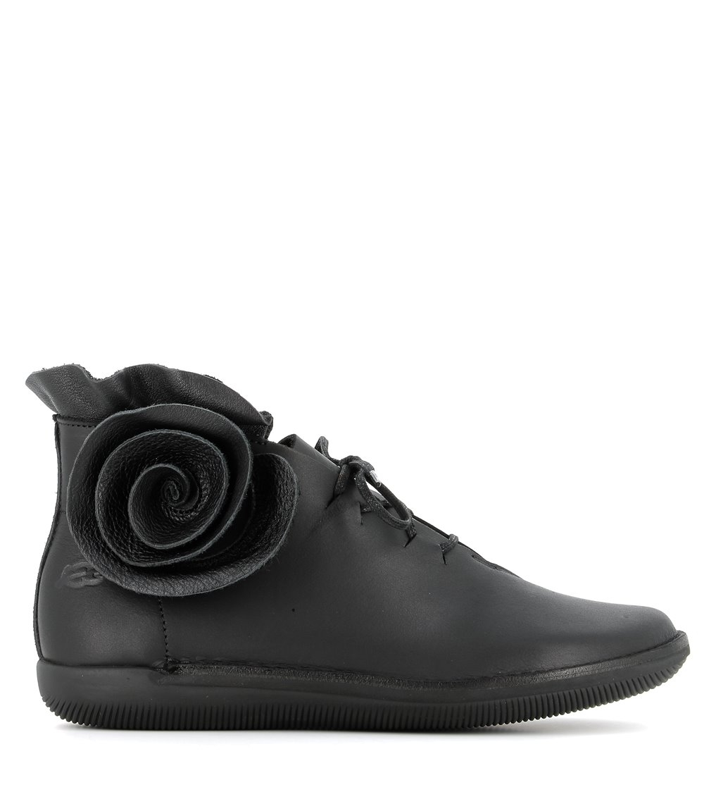 low boots natural 68463 black