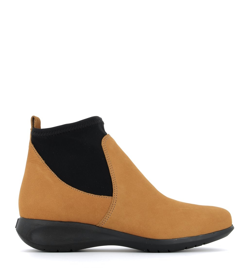 low boots sacha ocre