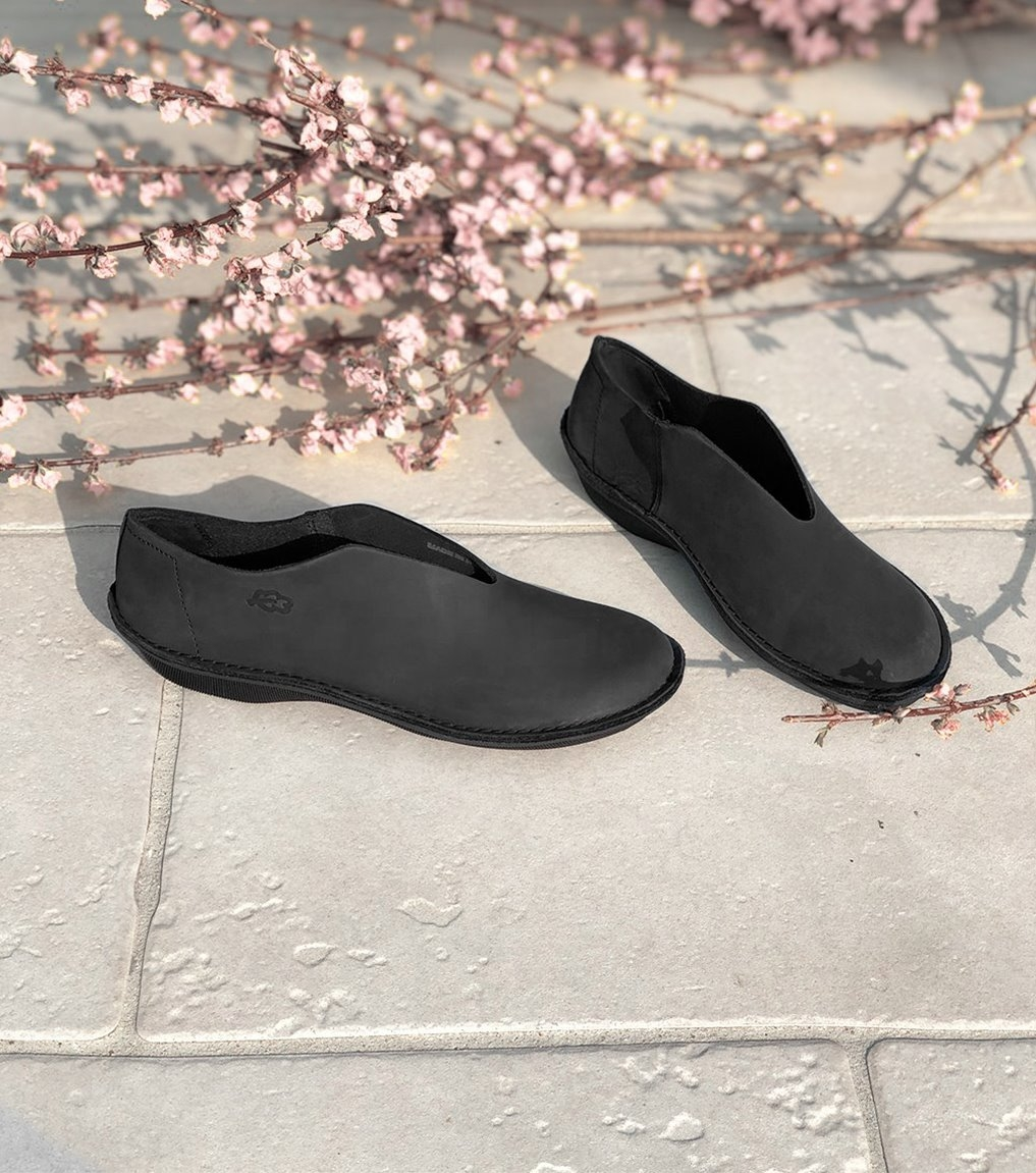 casual shoes turbo 39002 black