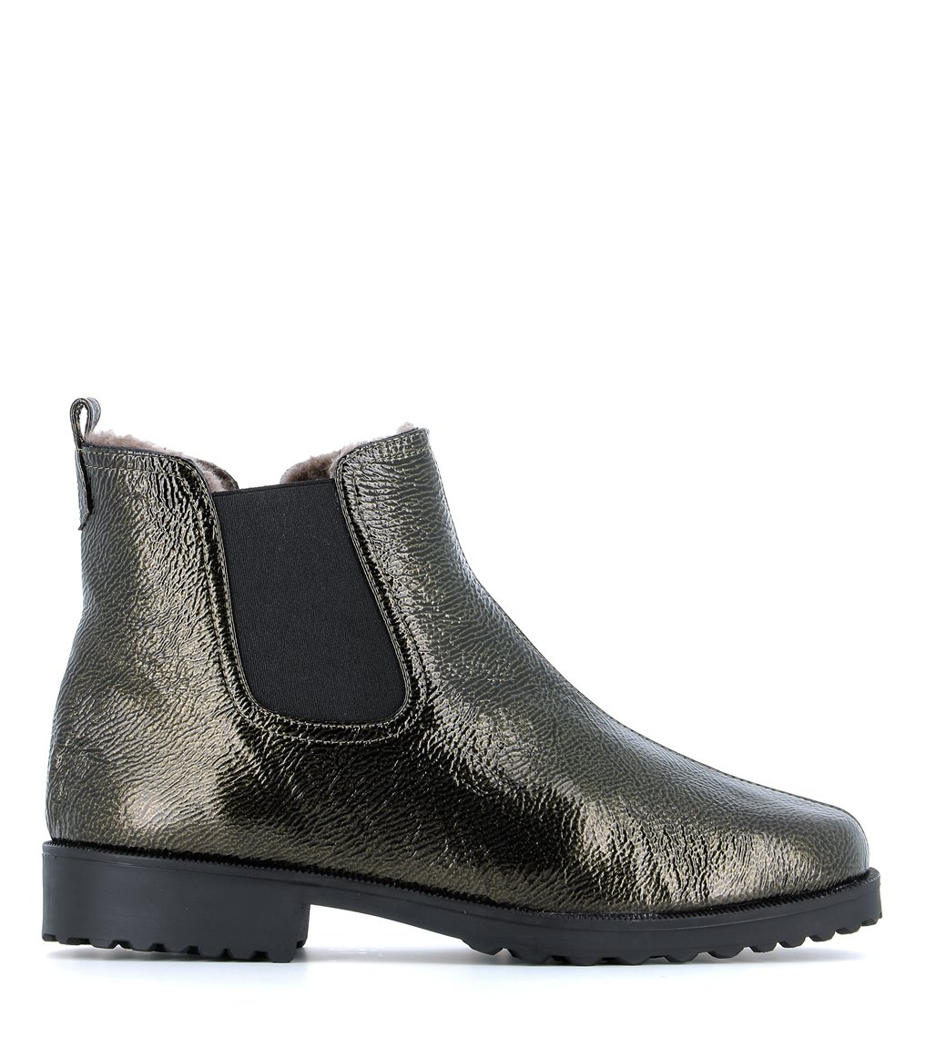 lined ankle boots 28553 olivo