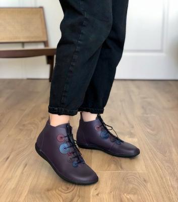 zapatos natural 68743 violet