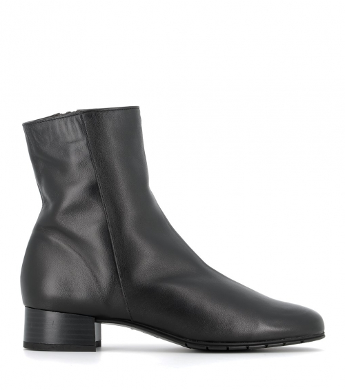 lined ankle boots 38274 nero