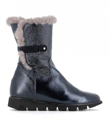 boots fourrées 28130 blu
