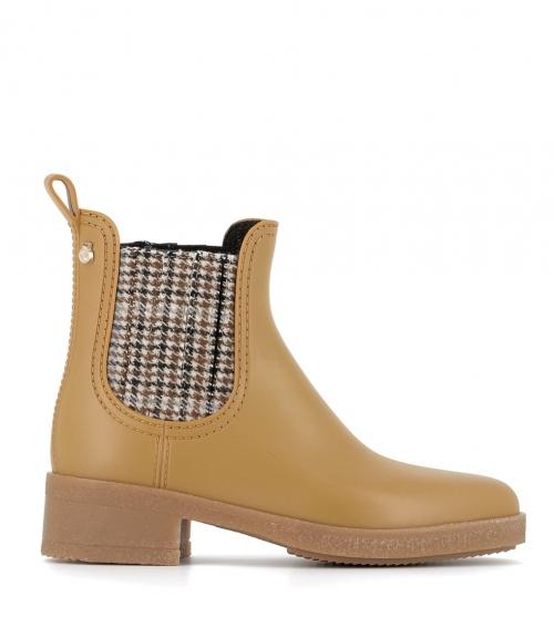 rain boots logan 04 gold
