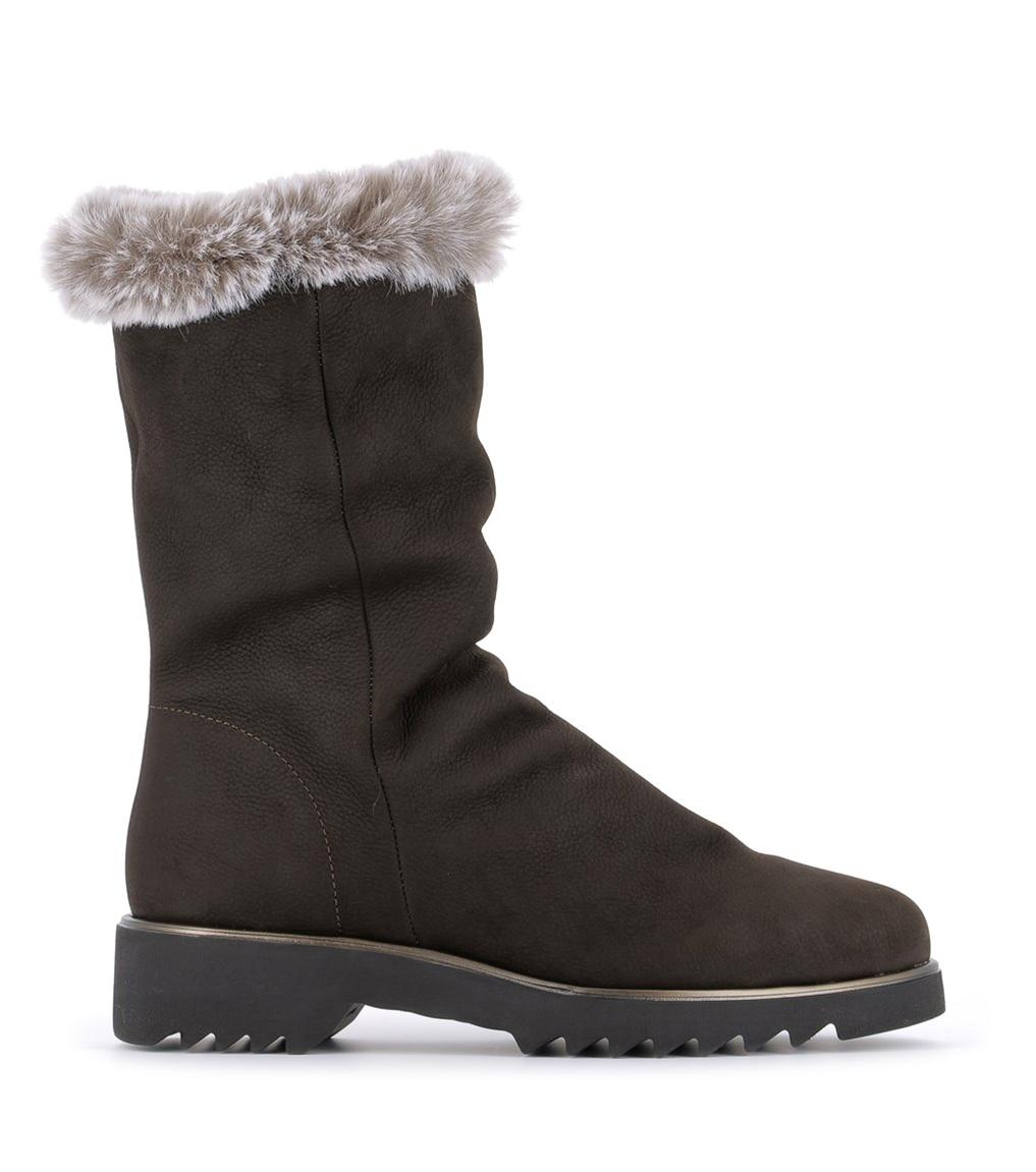lined boots orele ebene