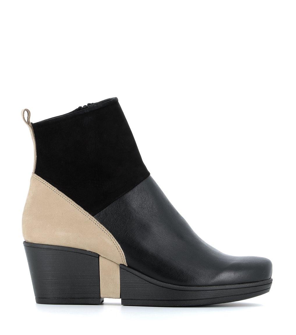 low boots carmen black