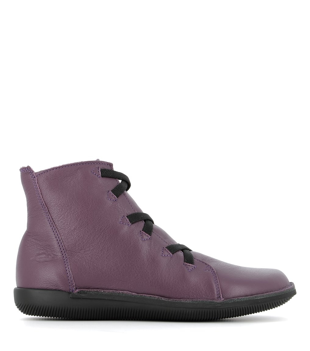 low boots natural 68068 velvet