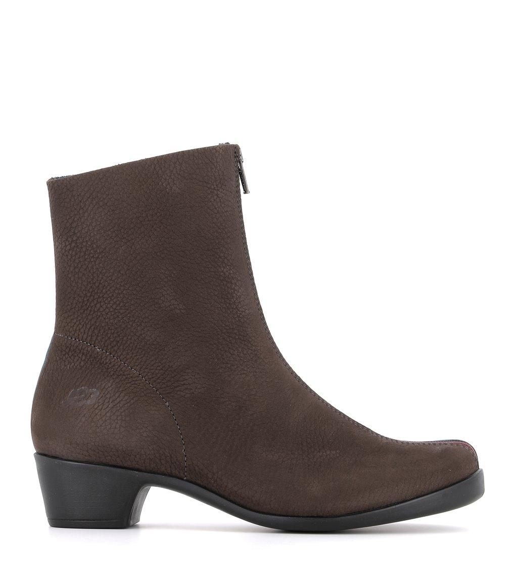 ankle boots opera 33985 brown turquoise