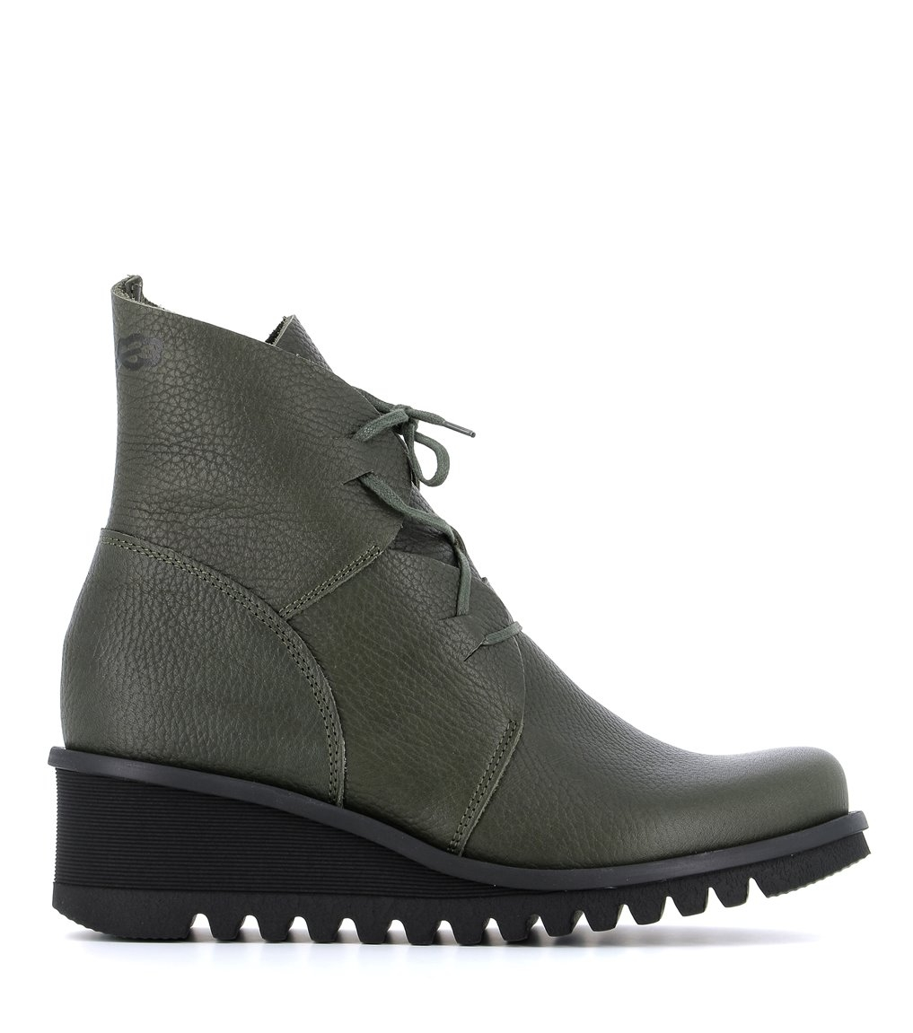 low boots lightning 33991 green
