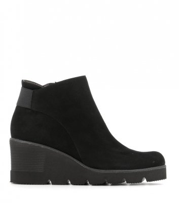 boots compensées 58286 nero