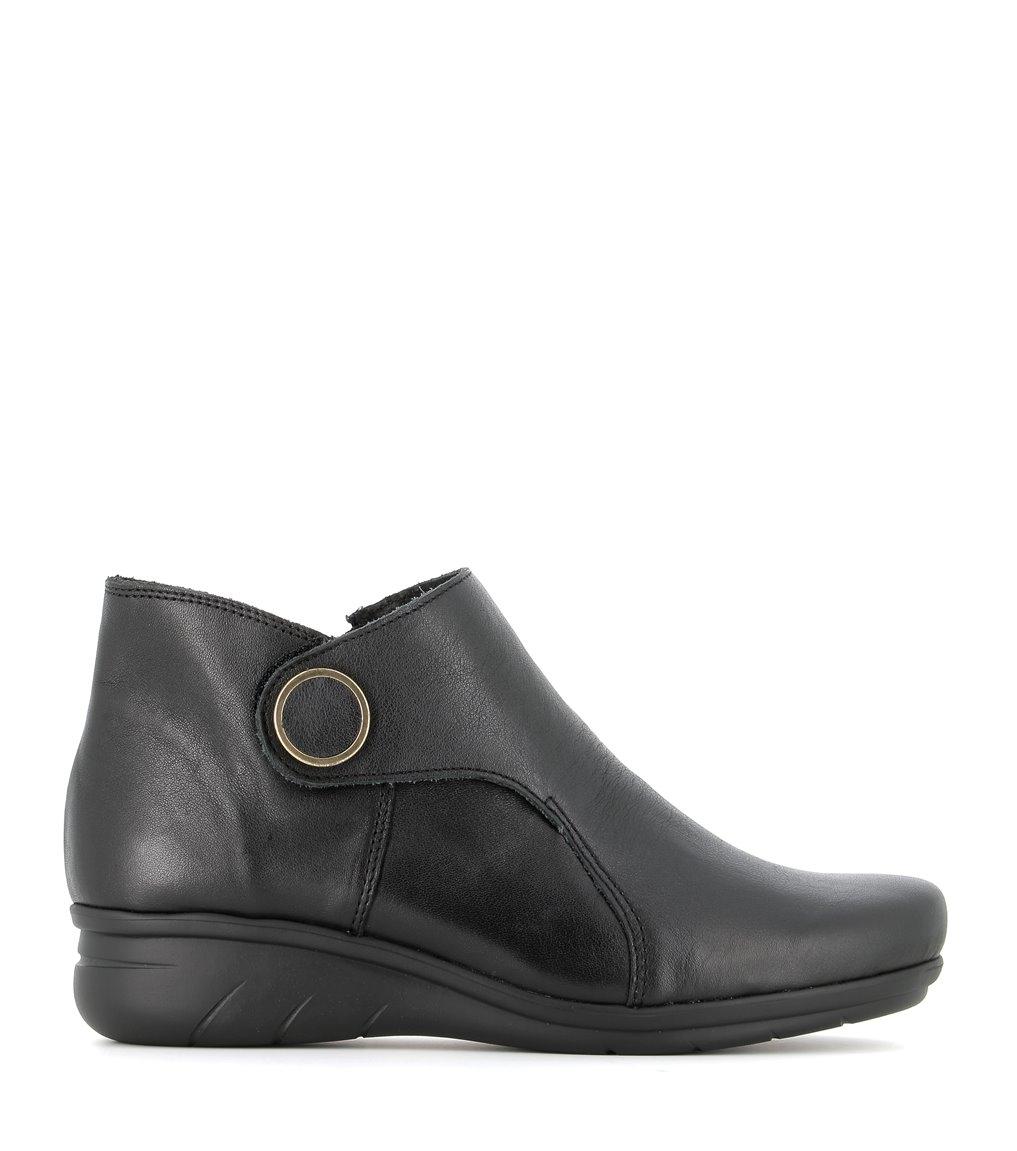 low boots diane black
