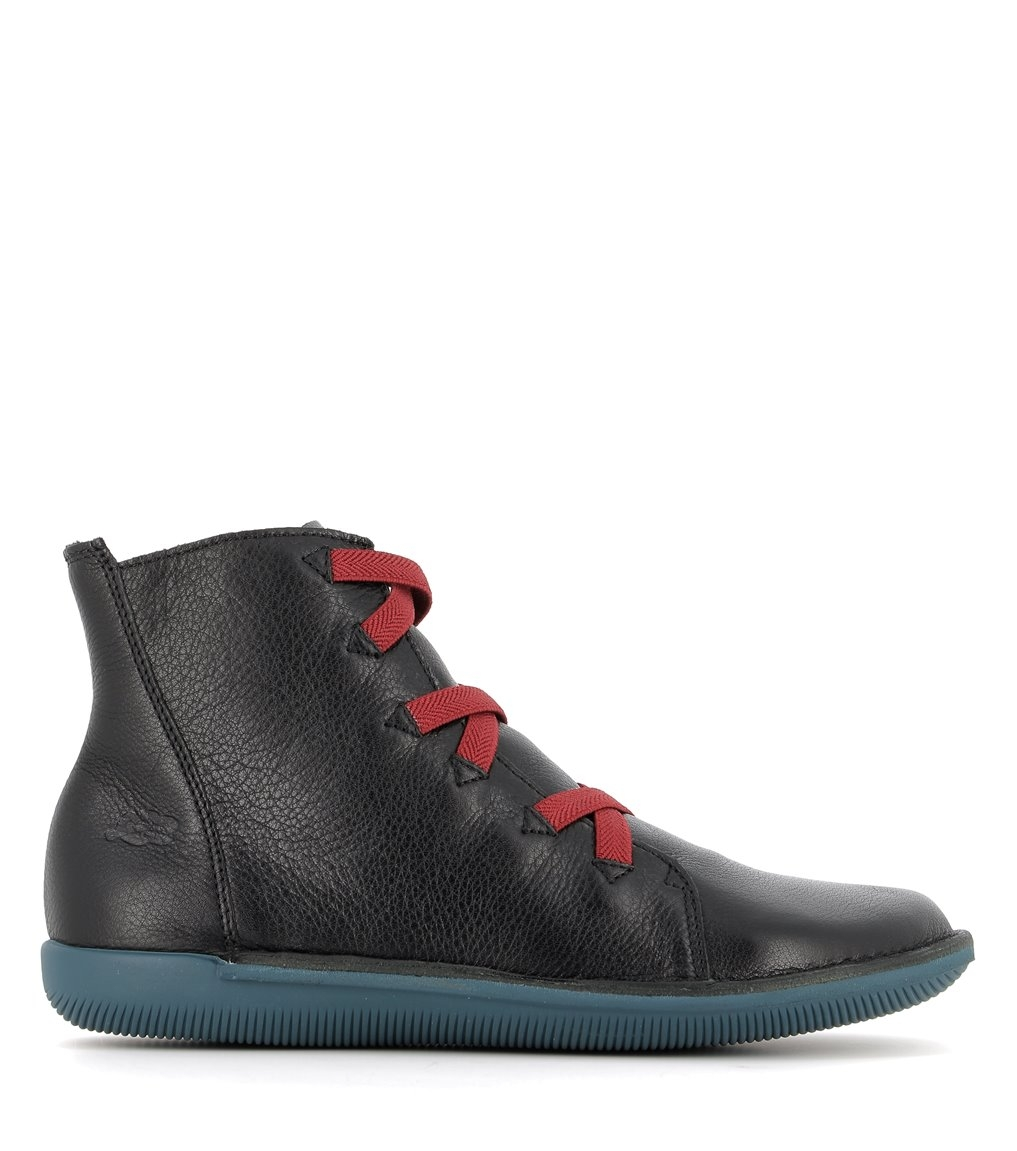 low boots natural 68092 black