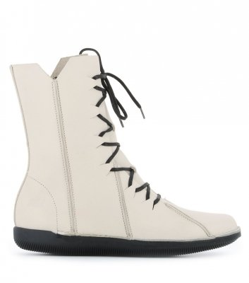 botas natural 68955 off white
