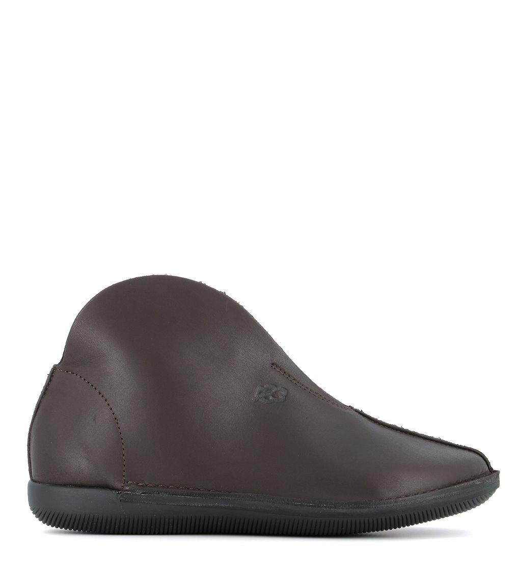 low boots natural 68867 dark brown