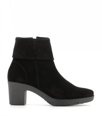 low boots oyana black