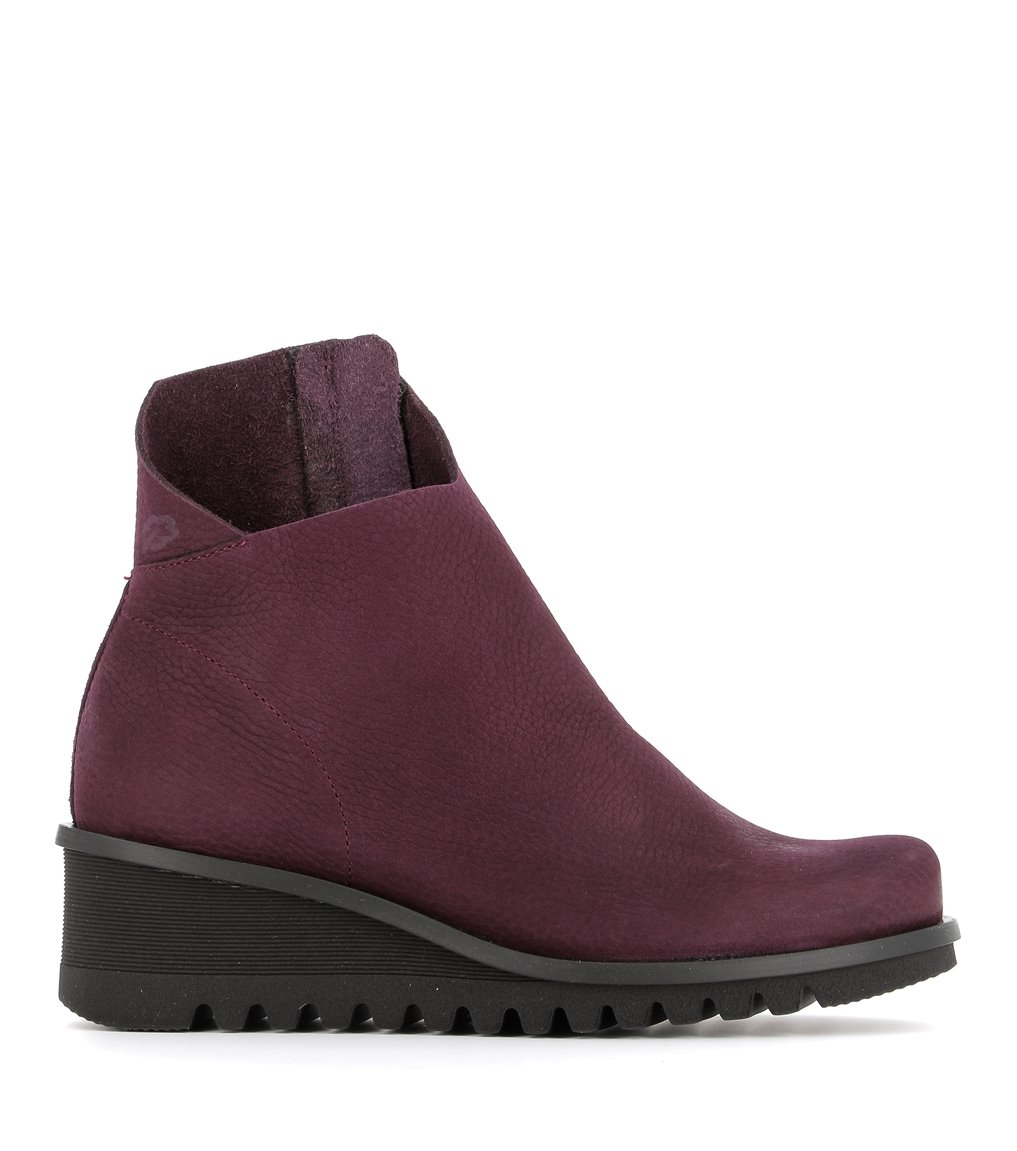 low boots lightning 33992 wine