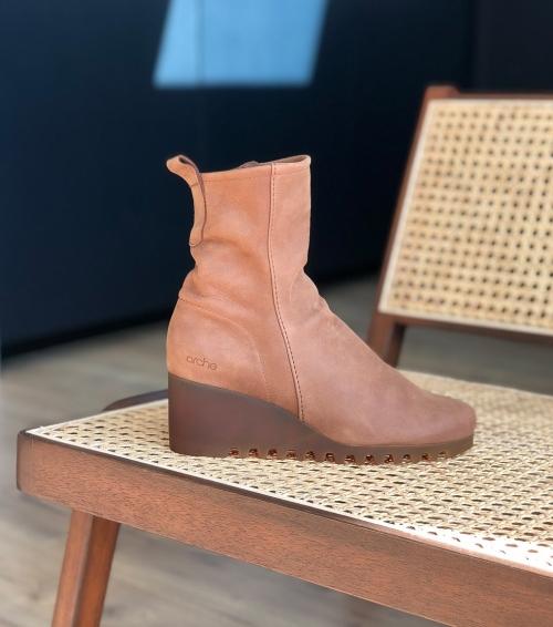 ankle boots larazo havane