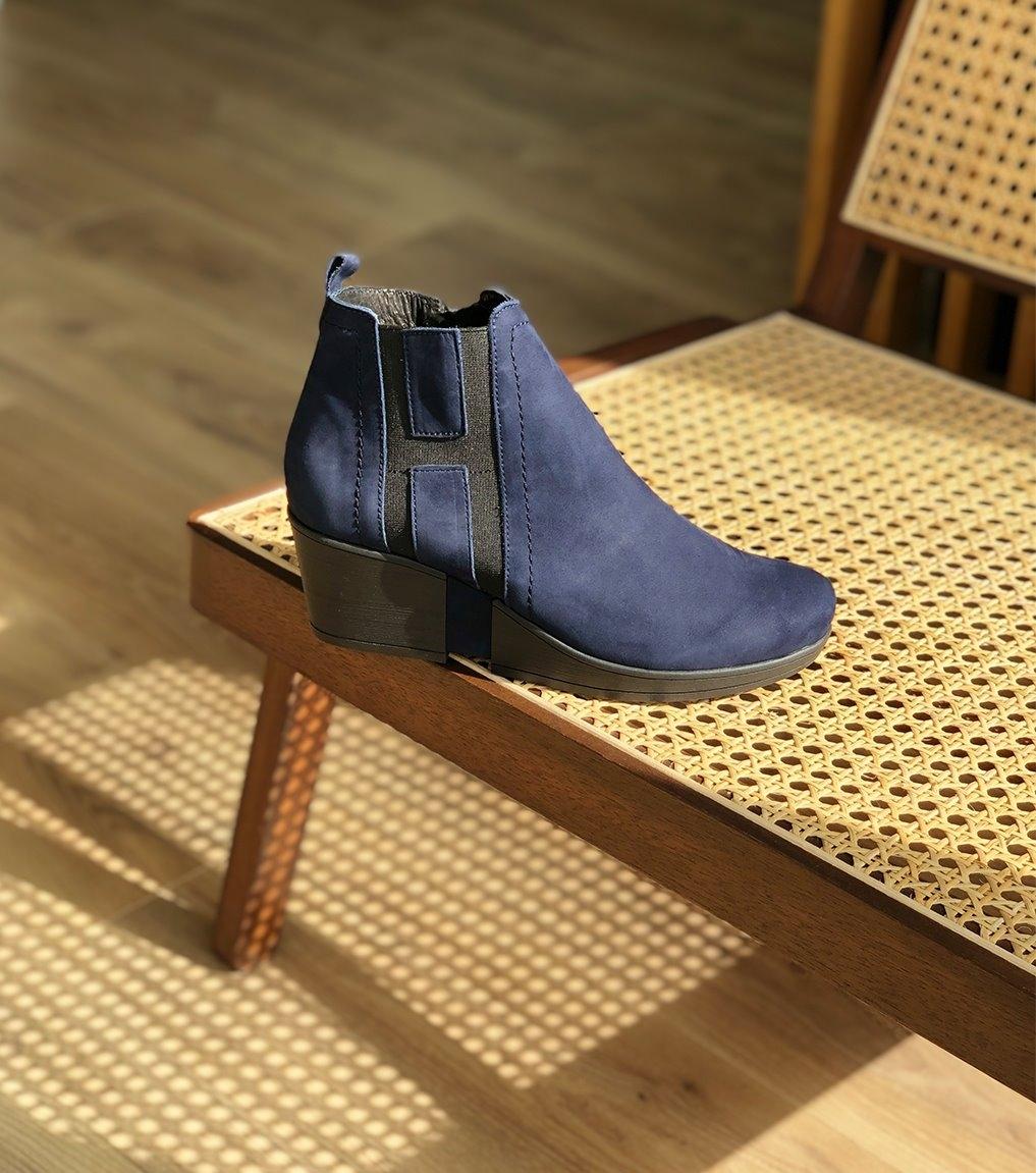 low boots carla marine