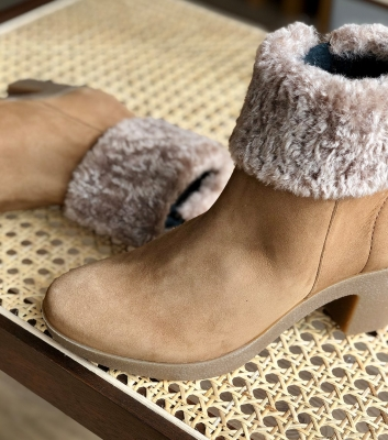low boots oyana cognac